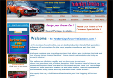Your Perfect Camero - Car restoration Company